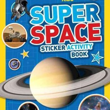 National Geographic Kids Super Space Sticker Activity Book: Over 1,000 Stickers! (National Geographic Kids)