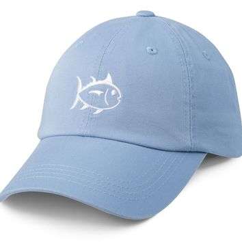 Collegiate Skipjack Hat in True Blue by Southern Tide