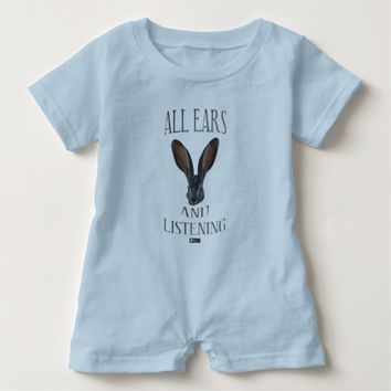 All Ears Baby Design by Kat Worth Baby Romper