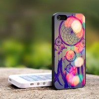 Dream Catcher Colorful - For iPhone 5 Black Case Cover