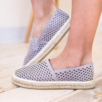 Look Close Espadrille Slip On Shoes