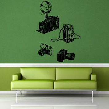 ik1138 Wall Decal Sticker camera film studio photographer