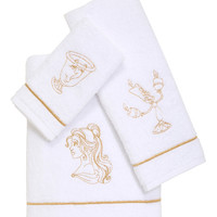 Disney Beauty And The Beast 3 Piece Bath Towel Set