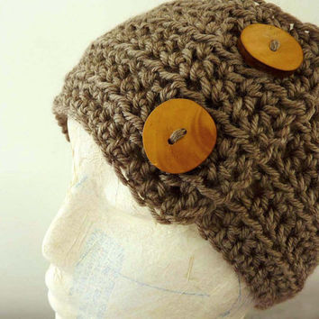 Knit Ear warmer Handmade Winter Head warmers Women
