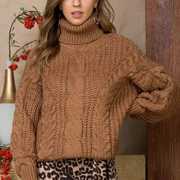 Cold Comfort Sweater