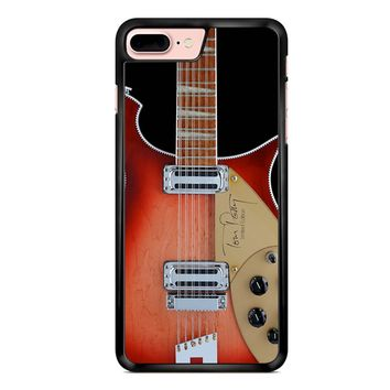 Tom Petty Signature In Fireglo Guitar iPhone 7 Plus Case