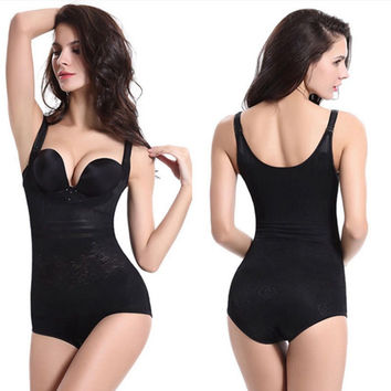 1PC Sexy Lady Women Breathable Waist Trainer Breathable Corset Cincher Shapewear Bodysuit American Styles Full Body Shapewear