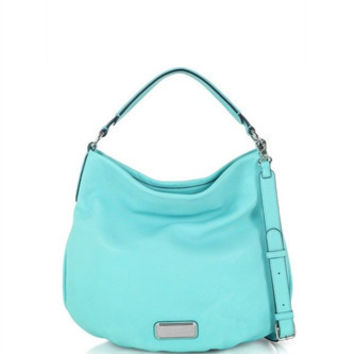 Marc by Marc Jacobs New Q Hillier Leather Hobo