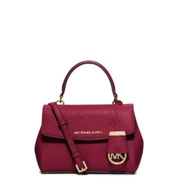 Ava Extra-Small Saffiano Leather Crossbody | Michael Kors