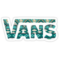 Vans Shoes Aztec Pattern