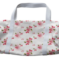 cherry duffles bag created by GossipRag | Print All Over Me