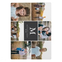Custom 6 Photo Collage Plaque with Easel