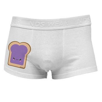 Cute Matching Design - PB and J - Jelly Side Printed Mens Trunk Underwear by TooLoud