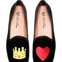 M'O Exclusive #queenofhearts Loafer by Del Toro - Moda Operandi