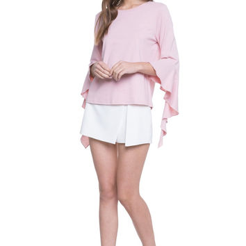 Pink Carrie Top