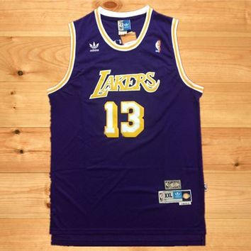 LA Lakers #13 Wilt Chamberlain Retro Swingman Jersey