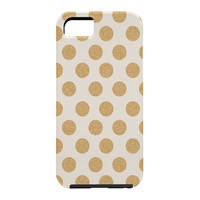 Allyson Johnson Gold Dots Cell Phone Case