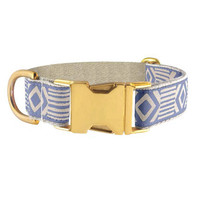 See Scout Sleep Blue & Cream Out Of My Box Collar