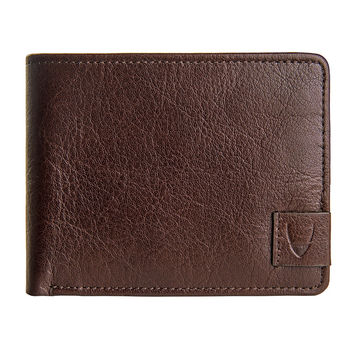 Hidesign Vespucci Buffalo Leather Slim Bifold Wallet