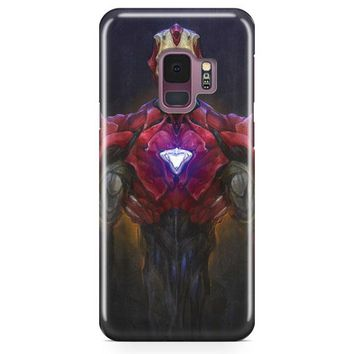 Iron Man Transparent Samsung Galaxy S9 Case | Casefantasy