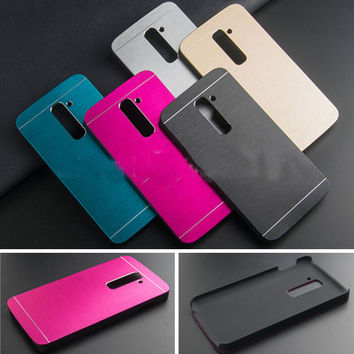 Brushed Metal Aluminium for LG G2 (D801, D802)