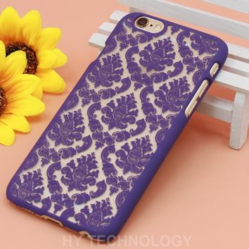 Retro Vintage Print Pattern Henna Floral Paisley Palace Flower Phone Cases Cover For iPhone 5 5G 5S 5C 6 6G 6S Plus 7 7Plus