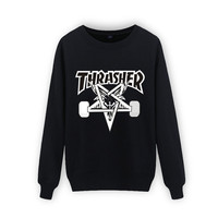 New Arrival  Cotton Thrasher Sweatshirt Men Sweatshirts