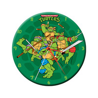 "Teenage Mutant Ninja Turtles 13.5"" Cordless Wall Clock"