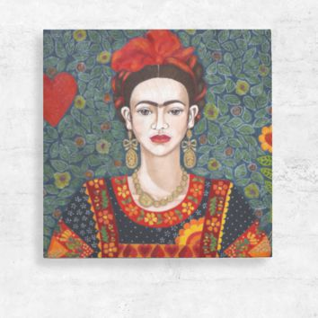 Frida Wood Wall Art