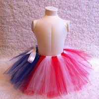 Americana Tutu for Girls by Dressupcastle on Etsy