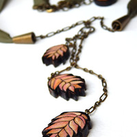 Wild Oats Necklace - Handmade & Eco friendly
