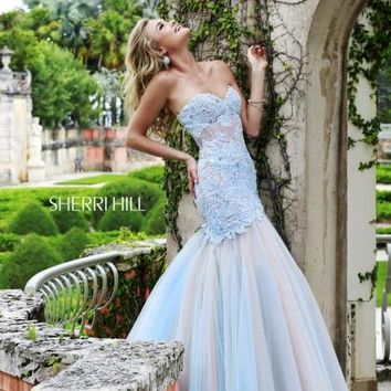 2015 Sherri Hill Sweetheart Prom Dress 11155