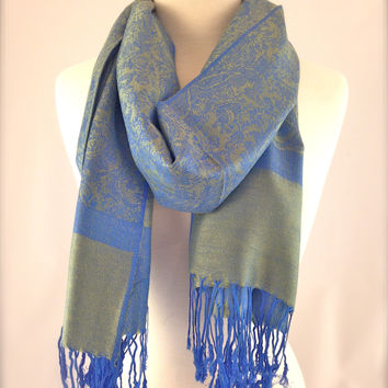 Out To Sea Pashmina