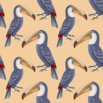 Toucan Tango Removable Wallpaper
