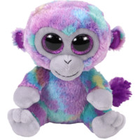 TY Beanie Boos Zuri the Multicolor Monkey Small 6""
