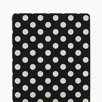 Kate Spade Le Pavillion Ipad Origami Case Black/Clotted Cream ONE