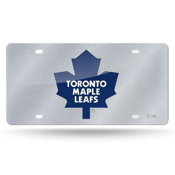 Toronto Maple Leafs NHL Bling Laser Cut Plate Cover