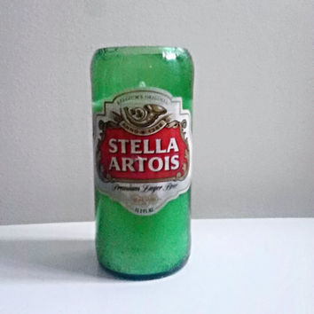 Stella Artois Green Classic Beer Bottle 100% Natural Soy Candle