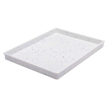 Confetti Medium Tray in White