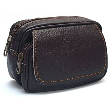 Mens Leather Bum Bag