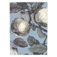 Linen pears A6 week to view 2016 diary