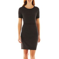 Worthington® Contrast Sweater Dress