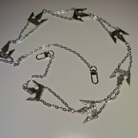Kingdom Hearts Wallet Chain in Pewter
