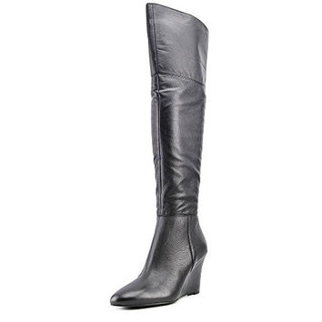 Via Spiga Kennedy Over-The-Knee Wedge Boots