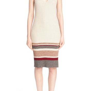 St. John Collection 'Marrakech' V-Neck Sweater Dress | Nordstrom