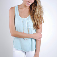 Heart And Soul Tank - Mint