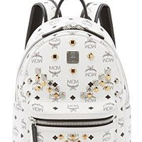 MCM Women's M Stud Small Stark Backpack  mcm