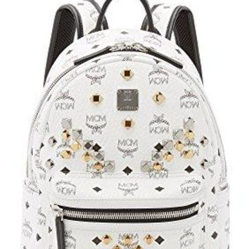 MCM Women's M Stud Small Stark Backpack