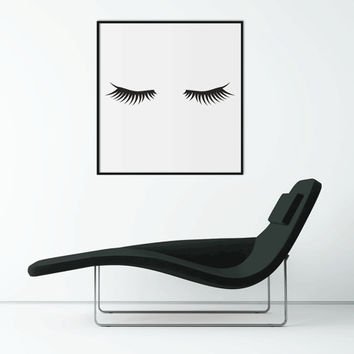Fashion Print Wall Art | Minimalist Poster | Makeup Printable Art Printable scalable to ALL SIZES