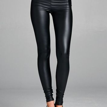 High Waist Liquid Leggings